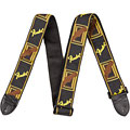 "Fender Monogram 2"" Black/Yellow/Brown « Gitarrengurt"