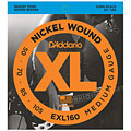 Saiten E-Bass D'Addario EXL160 Nickel Wound .050-105