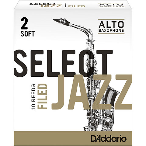 D'Addario Select Jazz Filed Alto Sax 2S