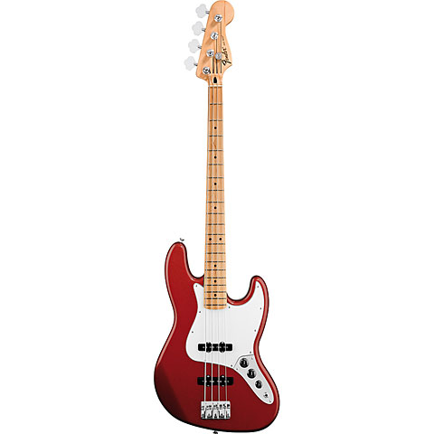 Fender Standard Jazzbass MN Candy Apple Red