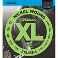 Saiten E-Bass D'Addario EXL165-5 Nickel Wound .045-135