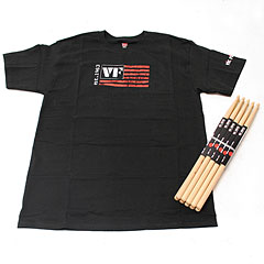 Vic Firth Value Pack 5 Pairs American Classic 5A + T-Shirt M