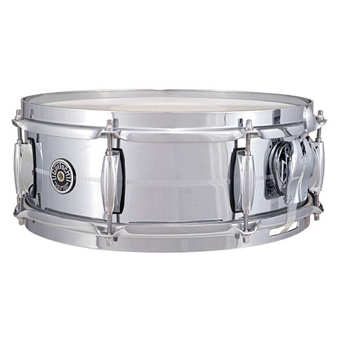 Gretsch USA Brooklyn 14  x 5  Chrome over Brass Snare