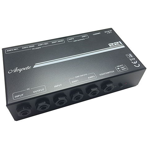 Ampete 221 Amp/Cabinet Switching System