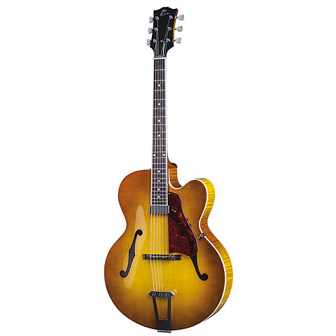 Gibson Custom Shop Solid Formed 17  Hollowbody Venetian