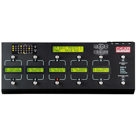 G-LAB GSC-5 Guitar System Controller