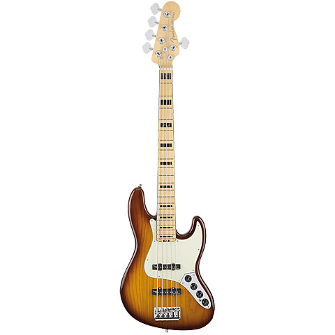 Fender American Elite Jazz Bass V ASH MN TBS