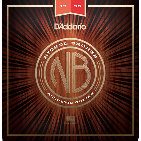 D'Addario NB1356 Nickel Bronze Set