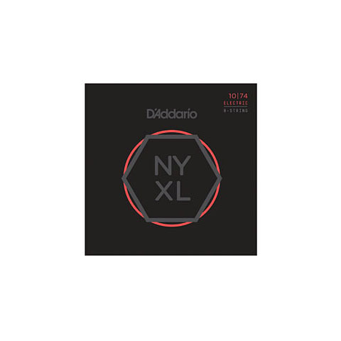 D'Addario NYXL1074 8-String Set