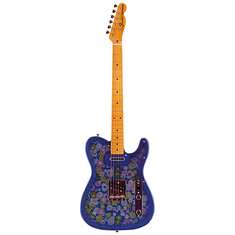 Fender Japan Classic 69 Telecaster Blue Flower