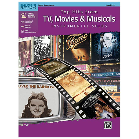Alfred KDM Top hits from TV, Movies and Musicals for tenor sa