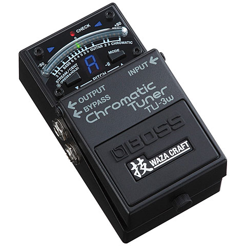 Boss TU-3W Waza Craft Chromatic Tuner + Buffer