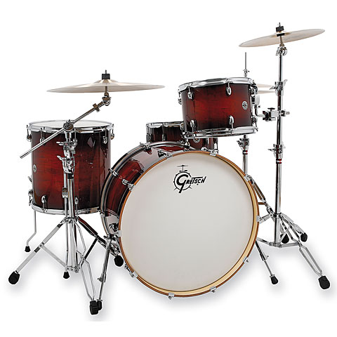 Gretsch 24  Gloss Antique Burst Drumset