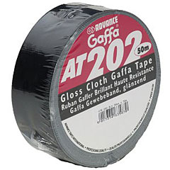 Gaffa Advance AT 202 Tape schwarz, Diverses