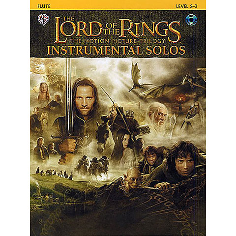 Warner The Lord of the Rings Trilogy for Flute inkl.CD