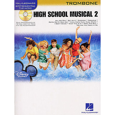 Hal Leonard High School Musical 2 for Trombone/Posaune