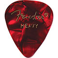 Fender 351 Red Moto, heavy (12 Stk.) « Plektrum