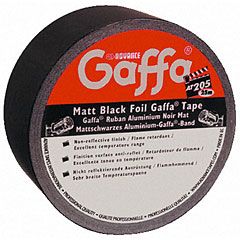Gaffa Advance AT 205 Alu Tape mattschwarz, Diverses