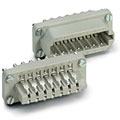 Multipin-Stecker Contact 20-Pol Einsatz male