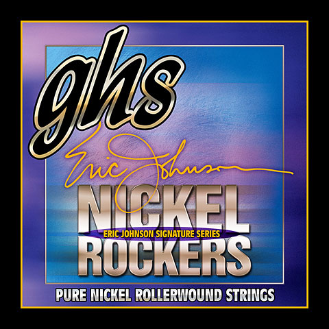 GHS Nickel Rockers 011-052 R+EJM Eric Johnson