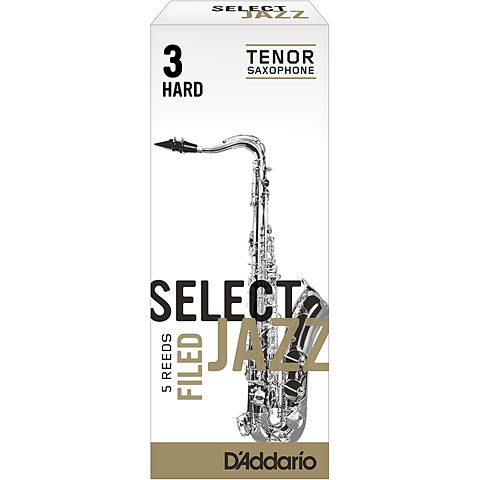 D'Addario Select Jazz Filed Tenor Sax 3H