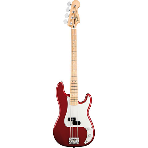Fender Standard Precision Bass MN Candy Apple Red