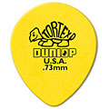 Dunlop Tortex TearDrop 0,73mm (72Stck) « Plektrum