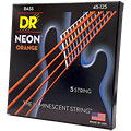 Saiten E-Bass DR Neon Orange Medium 5