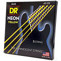 Saiten E-Bass DR Neon Yellow Medium 5