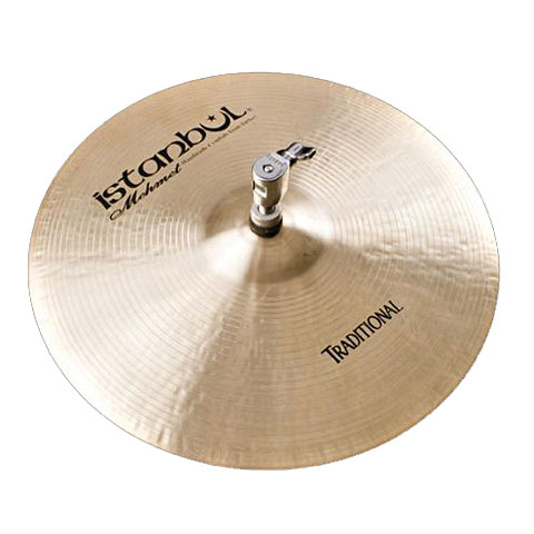 Istanbul Mehmet Traditional 13  Flat Bottom Hole HiHat