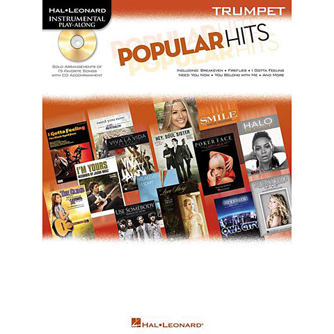 Hal Leonard Popular Hits for Trumpet