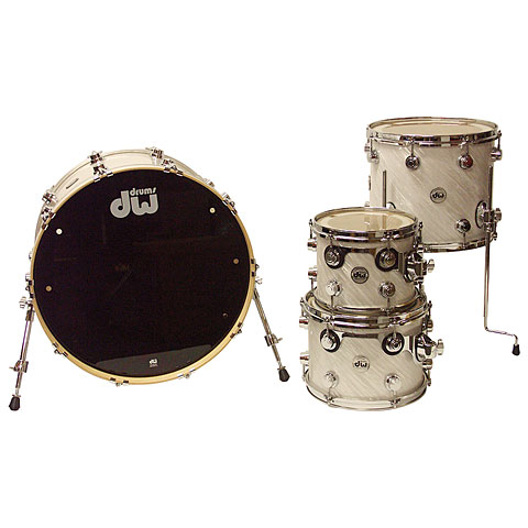DW Collector´s Finish Ply White Twisted Satin