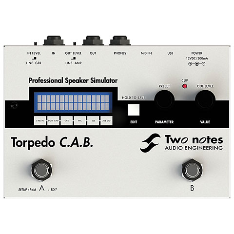 Two Notes Torpedo C.A.B.