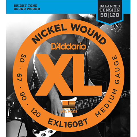 D'Addario EXL160BT Nickel Wound .050-120