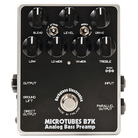 Darkglass Microtubes B7K Analog Bass PreAmp
