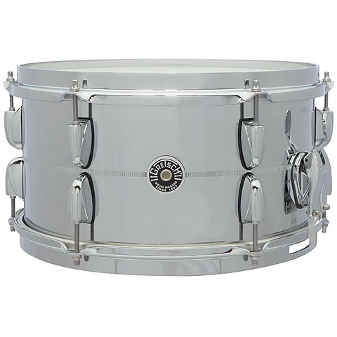 Gretsch USA Brooklyn 13  x 7  Chrome over Steel Snare