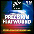 Saiten E-Bass GHS Precision Flatwound 045-105, M3050