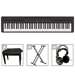 yamaha p 45 b bundle iii stagepiano musik produktiv. Black Bedroom Furniture Sets. Home Design Ideas