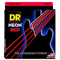 Saiten E-Bass DR Neon Red Medium