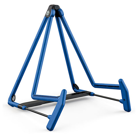 K&M 17580 A-guitar stand Heli 2 blue