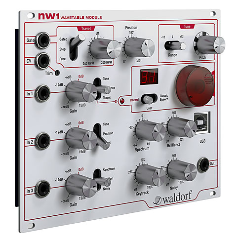 Waldorf nw1 Wavetable Module