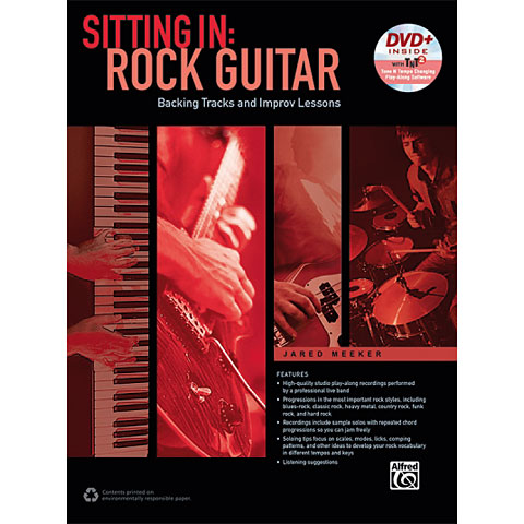 Alfred KDM Sitting In: Rock Guitar (+ DVD)