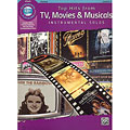 Play-Along Alfred KDM Top hits from TV, Movies and Musicals for clarinet