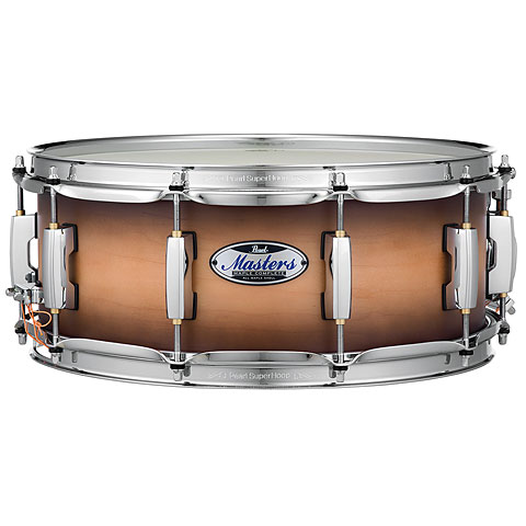 Pearl Masters Maple Complete 14  x 5,5  Satin Natural Burst