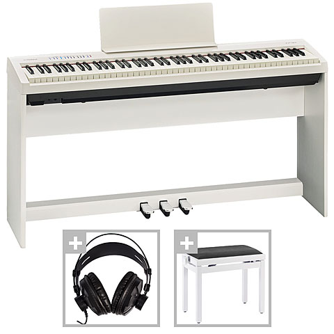 Roland FP-30 WH Deluxe Set