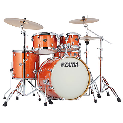 Tama Silverstar 20  Bright Orange Sparkle