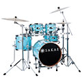 Sakae Pac-D Sonic Blue Compact Plus Drumset « Schlagzeug