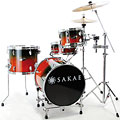 Sakae Pac-D Forest Fade Compact Drumset « Schlagzeug