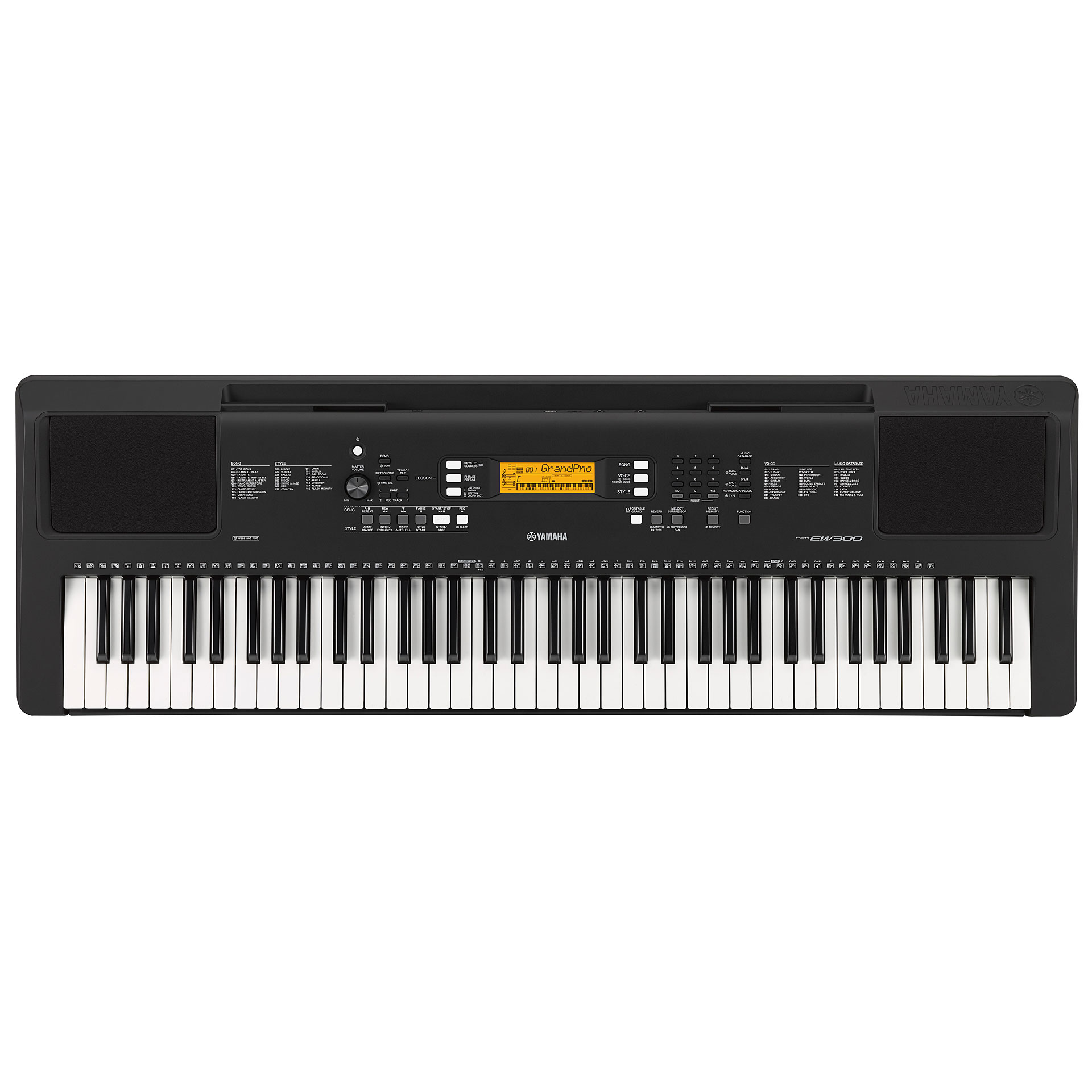 Yamaha psr ew300 keyboard for Yamaha psr ew