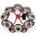 Latin Percussion City Hi-Hat Jingle Ring Double « Tambourin
